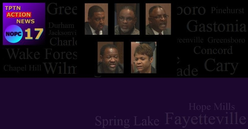 Fayetteville City Council; Just Cause or Just Racist