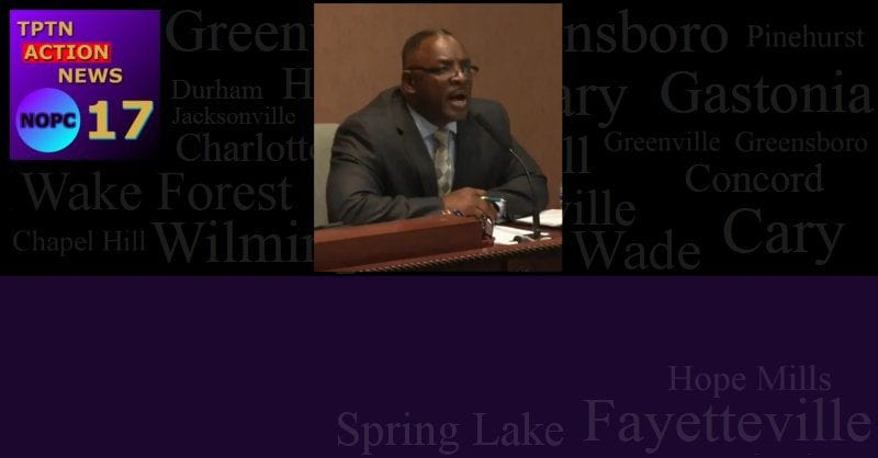 Fayetteville N.C. Councilman Abuses City Employee