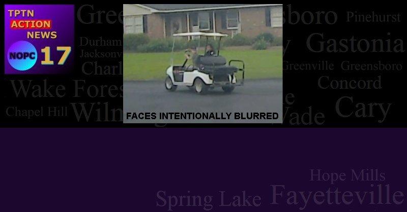 Golf Carts + Children = Child Endangerment / Abuse / Neglect